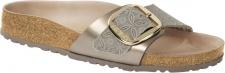 Birkenstock Pantolette Madrid Big Buckle ceramic pattern blue NL Gr. 35 - 43 1009032
