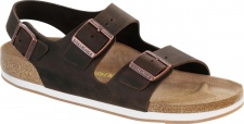 Birkenstock Sandale Milano FL habana Fettleder Gr. 35 - 46 635023