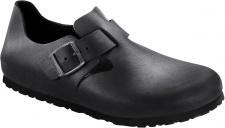 BIRKENSTOCK Shoes Halbschuh London schwarz Leder Gr. 35 - 48 166541 + 166543