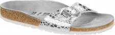 Birkenstock Pantolette Madrid BF metallic stones silver Gr. 35 - 43 1008802