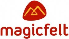 magicfelt Wollfilz-Pantoffel rubin Gr. 36 - 46 709 4823