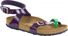 Birkenstock Zehensteg Sandale Yara BFLA tropical green lilac Gr. 35 - 43 1004057