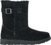 Birkenstock Boot Stiefel Westford Veloursleder, black Gr. 36 - 42 - 424713
