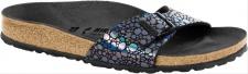Birkenstock Pantolette Madrid BF metallic stones black Gr. 35 - 43 1008803 / 1008804