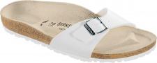 BIRKENSTOCK Gymnastik Sandale Pantolette Madrid weiß BF Gr. 35 - 46 040731 + 040733