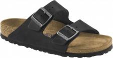 Birkenstock Pantolette Arizona schwarz Leder Gr. 35 - 46 1001380