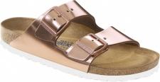Birkenstock Pantolette Arizona NL WB Metallic Copper Gr. 35 - 43 - 952093