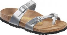 BIRKENSTOCK Zehensteg Sandale Mayari silber Gr. 35 - 43 071081 + 071083