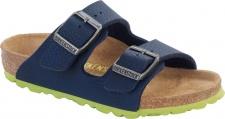 Birkenstock Pantolette Arizona BF desert soil blue Gr. 35 - 39 555703k