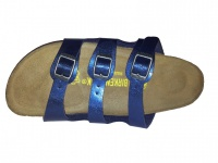 Birkenstock Pantolette Florida BF Graceful Insignia Blue Gr. 35 - 43 - 056963