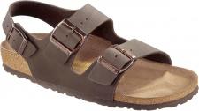 BIRKENSTOCK Sandale Milano mocca Birko-Flor Gr. 35 - 48 634503 + 634501