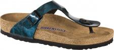 Birkenstock Zehensteg Sandale Gizeh BF iride strong blue Gr. 35 - 43 - 1011154