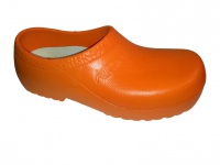 ALPRO Birkenstock PU Gartenclogs orange Stahlkappe A604 020600
