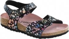 Birkenstock Sandale Fersenriemen Rio Kinder BF magic stones black BF Gr. 24 - 34 - 731883