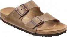 BIRKENSTOCK Pantolette Sandale Arizona tabacco brown Gr. 35 - 46 352201 + 352203
