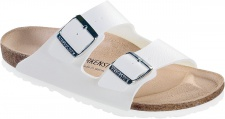 BIRKENSTOCK Pantolette Arizona weiß Gr. 35 - 48 051731 + 051733