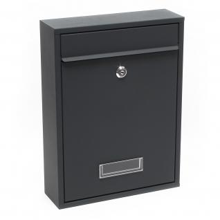 briefkasten anthrazit online bestellen bei yatego. Black Bedroom Furniture Sets. Home Design Ideas