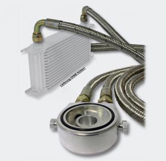 Ölkühler AnschlussSet universell passend Ölfilteradapter mit Stahlflex