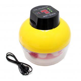 Automatische Brutmaschine 8 Eier Inkubator Flächenbrüter Brüter