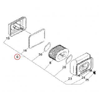 Ersatzteil Dieselmotor Luftfilter komplett für 10 PS - Vorschau 2