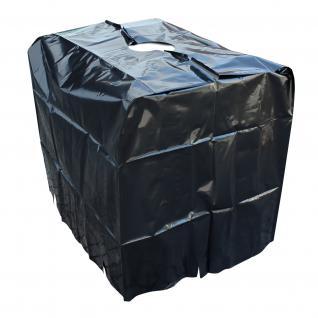 Abdeckplane Schutzhaube Haube für IBC Container Regenwassertank 1000 l