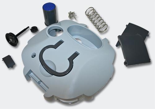 Ersatzteil Außenfilter SunSun HW-404B Deckel/Pumpen Montageset