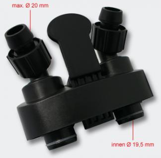 Ersatzteil Außenfilter SunSun HW-302 Vorlaufventil und Rücklaufventil