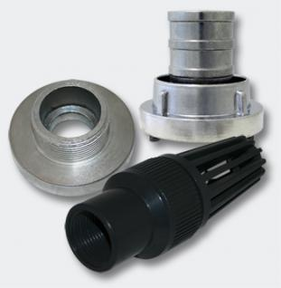 """Fußventil Set 25mm (1"""") Schlauch Druckkupplung Verbinder Storz D/25"""