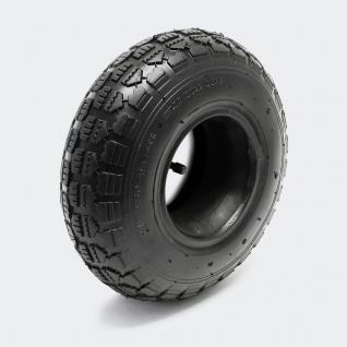 2x Reifen für Aufsitzmäher 11x4.10/3.50-5 4pr mit Schlauch Winkelvent - Vorschau 1