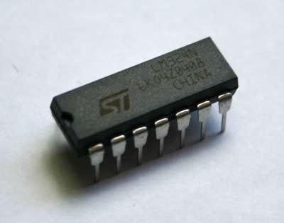 AOYUE Ersatzteil LM324 DIP14 Low Power Operational Amplifier