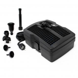 SunSun CUF-2500 3in1 Filter & 1000l/h Springbrunnen 20W & 9W UV-Klärer
