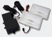 Type-R Square Strobo-Light transparent Stroboskop Blitzer Frontblitzer
