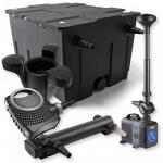 1-Kammer FilterSet 60000l 24W UV Klärer NEO7000 Springbrunnen Skimmer