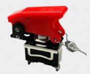 Kill-Switch Kippschalter Notausschalter 20A / 12V Knock-Out in rot