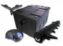 SunSun Filter Set 60000l Teich mit 72W Teichklärer und 100W ECO Pumpe