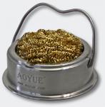 AOYUE TY-98 Lötzinn Abstreifer Tischständer Metallschwamm