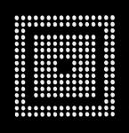 AOYUE PS3 CXR714120 Reballing BGA Schablone 0.6mm