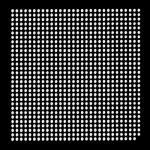AOYUE XBOX360CPU Reballing BGA Schablone 0.60 mm