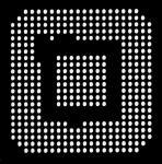 AOYUE XBOX360CSP Reballing BGA Schablone 0.60 mm