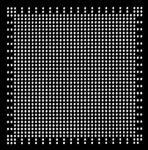 AOYUE CXD2973GB Reballing BGA Schablone 0.60 mm