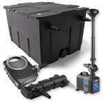 1-Kammer Filter Set 60000l 18W UVC Klärer NEO8000 Pumpe Springbrunnen