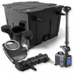 1-Kammer FilterSet 60000l 18W UV Klärer NEO7000 Springbrunnen Skimmer