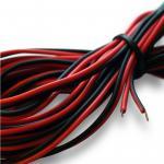 Lautsprecherkabel 0, 5mm² 4, 5m Boxen Kabel Zwillingslitze rot schwarz