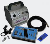 Einsteiger Airbrush Kompressor Set mit 1 Airbrushpistole AS176