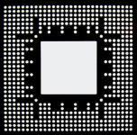 AOYUE FXG05200 Reballing BGA Schablone 0.60 mm