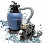 Sandfilter Filteranlage Sandfileranlage Poolfilter Pumpe Poolpumpe
