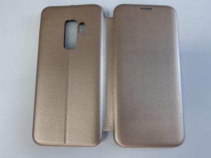 Tasche Book style für Samsung Galaxy S9 Plus gold