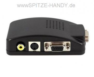 Computer zu TV Konverter mittels VGA Anschluss