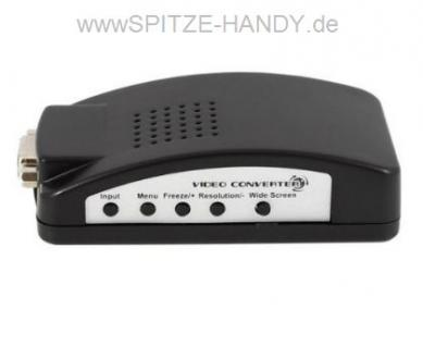 Computer zu TV Konverter mittels VGA Anschluss - Vorschau 2