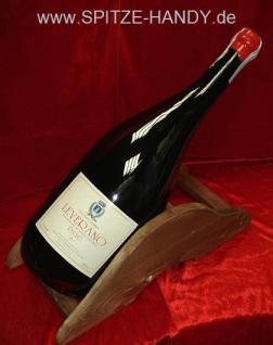 Rot wein geschenk 5l Magnum Flasche Leverano Rosso - Vorschau 3